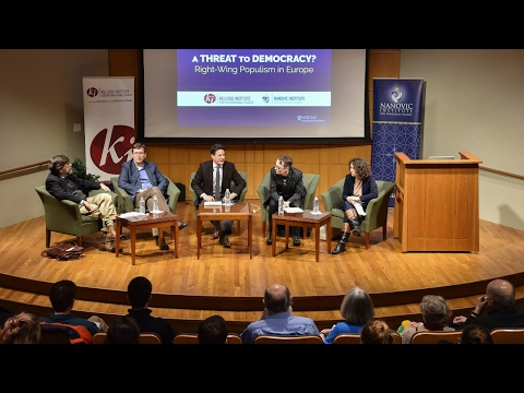 Current Events Panel: A Threat to Democracy?  Right-Wing Populism in Europe