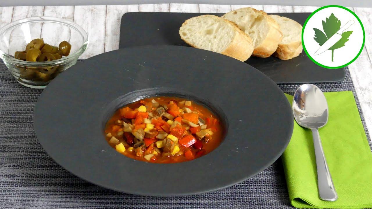 Chili sin Carne - Das leckere Chili ohne Fleisch 🌶