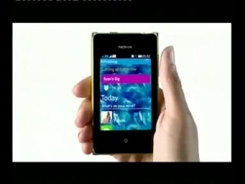 โฆษณา Nokia   Asha 503