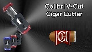 Colibri V-Cut Cigar Cutter