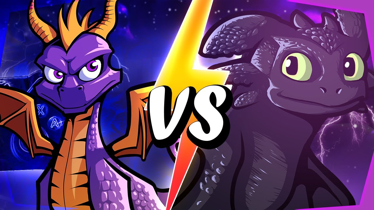SPYRO vs TOOTHLESS | REWIND RUMBLE