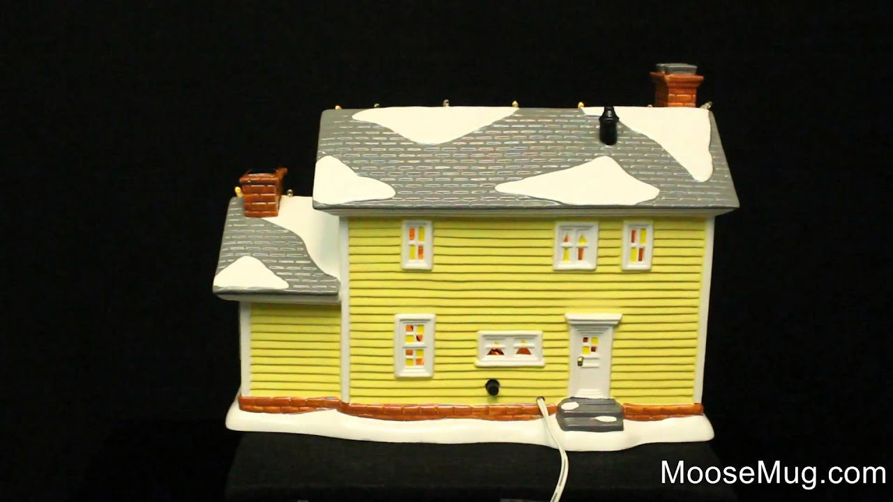 department 56 christmas vacation snow village the griswold holiday house