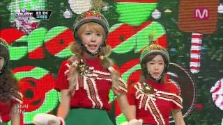 크레용팝_꾸리스마스 (Lonely Christmas by Crayon Pop@Mcountdown 2013.12.05)