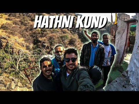 Hathni Kund at Nahargarh in Jaipur | Trek day #jaipur