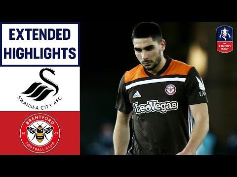 Swans Mount Sensational Comeback! | Swansea 4-1 Brentford | Emirates FA Cup 18/19