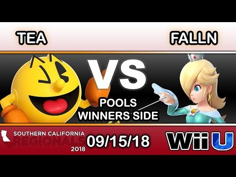 SCR 2018 - Tea (Pac-Man) Vs. Falln (Rosalina) Pools - Smash 4