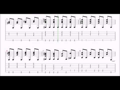 ♫ Eric Clapton - Tears In Heaven ♫ Easy Guitar Lesson ♫ !!! ORIGINAL NOTES & TABS !!!