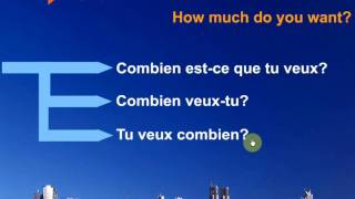 Questions in French What Who When Why How Part 2