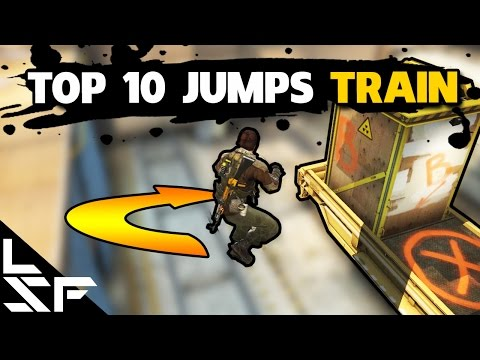 TOP 10 JUMPS & BOOSTS ON TRAIN - CS:GO Tips and Tricks