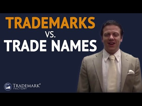 Trademarks vs  Trade Names | Trademark Factory® FAQ