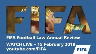 FIFA Football Law Annual Review  - Part I