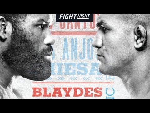 UFC Fight Night 166 Results: Curtis Blaydes Beats Junior Dos ...
