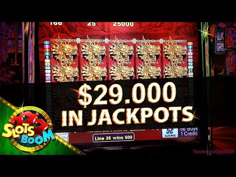 $29.000 in JACKPOTS !!! MEGA WINS IN SAN MANUEL CASINO!!!