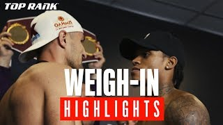 Kovalev vs Yarde: Weigh-in Highlight