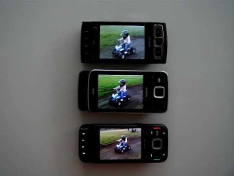 Nokia N85 vs Nokia N96 vs Nokia N95 8GB