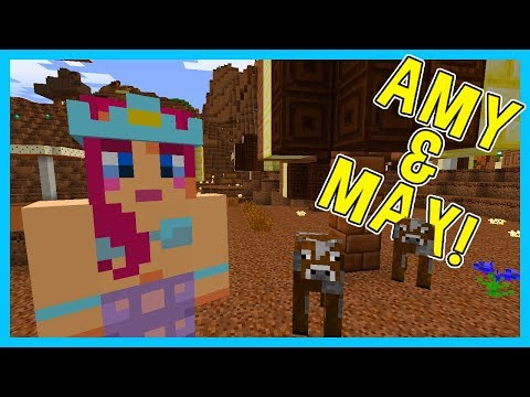 A WORLD MADE OF CHOCOLATE?! | Amy & Max! Ep.54 | Minecraft
