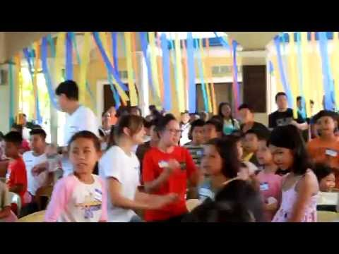 Singing with the Kids of Soong, Philippines