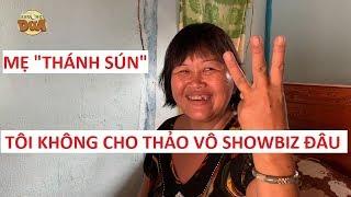"""Phản ứng mẹ """"Thánh Sún"""" Phạm Ngân Thảo khi con thắng 100 triệu Thách thức danh hài"""