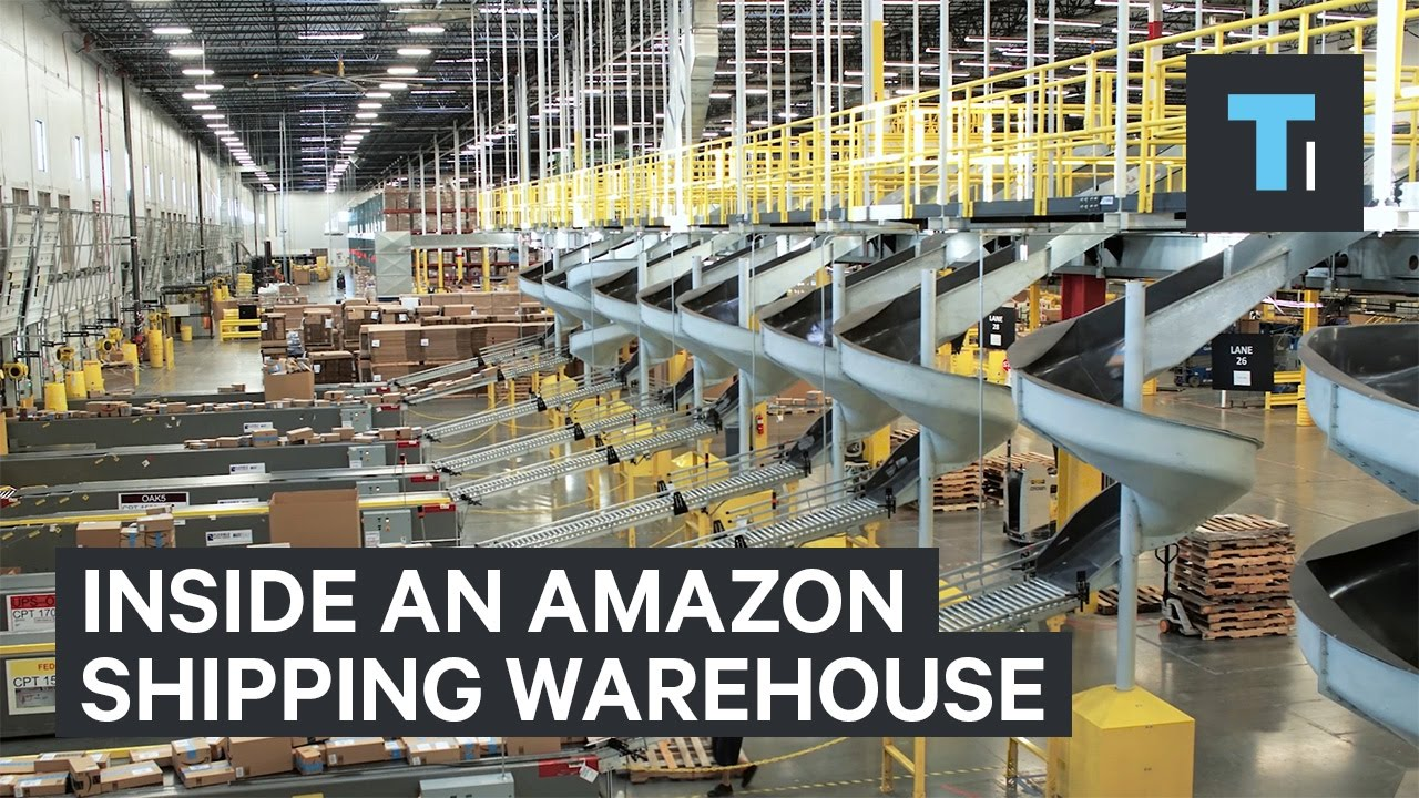 Inside An Amazon Warehouse On Cyber Monday   YouTube Inside An Amazon Warehouse On Cyber Monday