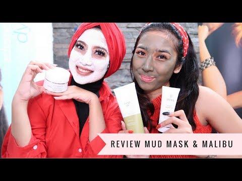 Review Mud mask and Malibu Miracle Mask #Fitri Gustiana With Indi Arisa