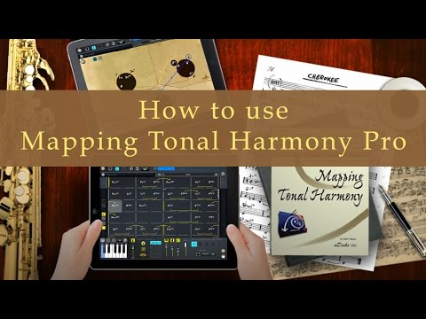 How to Use Mapping Tonal Harmony Pro (Basics) Tutorial #1 Music Education Video