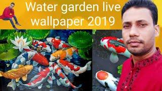 Water Garden live wallpaper 2019 fish live wallpaper screenshot 3