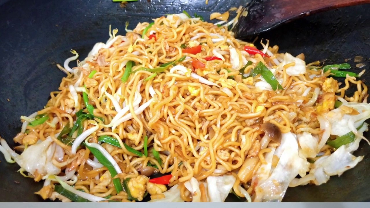 Delicious Indonesian Style Fried Noodle Resep Mie Goreng Jawa Enak Javanese Mee Goreng Youtube