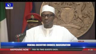 Federal Executive Council Inauguration 11/11/15 Pt 6