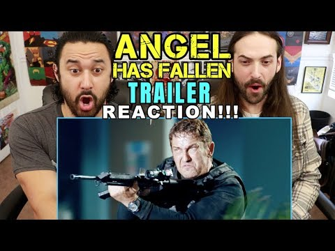 ANGEL HAS FALLEN Official Trailer – REACTION!!!