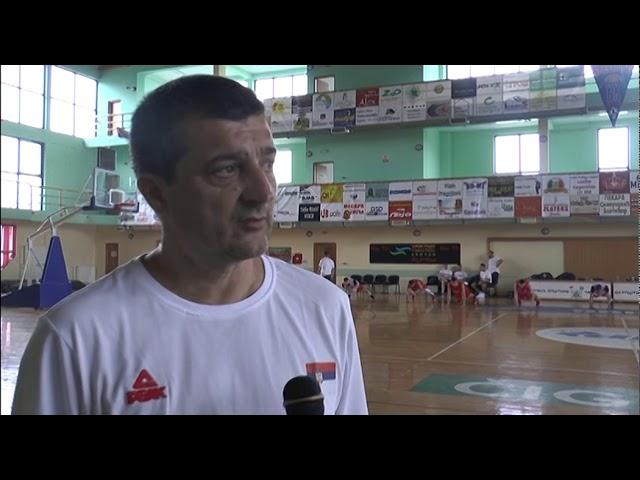 Припреме јуниорске кошаркашке репрезентације Србије, Златибор 2019.