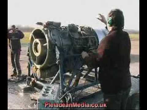 Rolls Royce Viper 535 3rd Test Run.