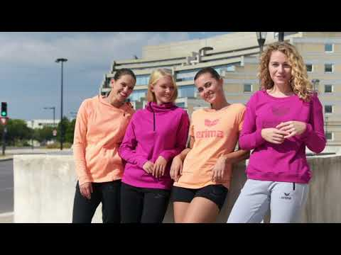 sportlicher-alltagslook-für-teams---erima-essentials-(fuchsia/purple-potion,-peach/love-rose)