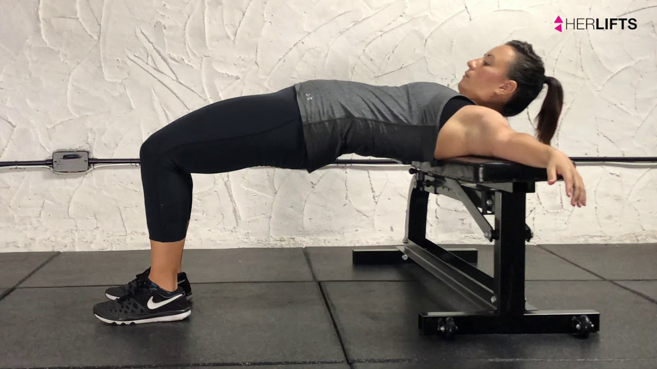 How to Banded Hip Thrust - YouTube