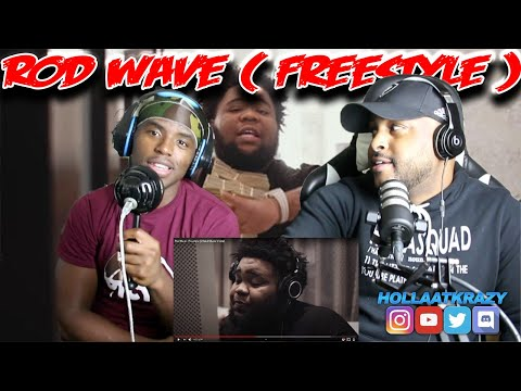 First Time hearing Rod Wave ( Freestyle ) | Reaction