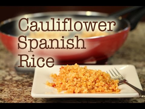 Cauliflower Spanish Rice Recipe