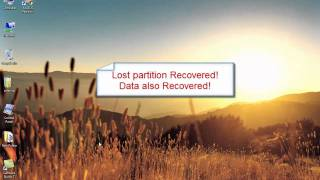 Free recover/restore hard drive partition-- EASEUS Partition Recovery freeware
