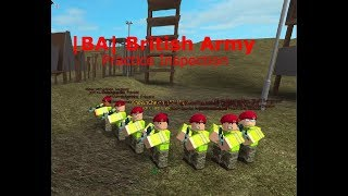 |BA| British Army || ROBLOX || Practice Inspection