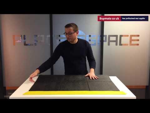 Cushion Ease Solid™ modular anti-fatigue mat