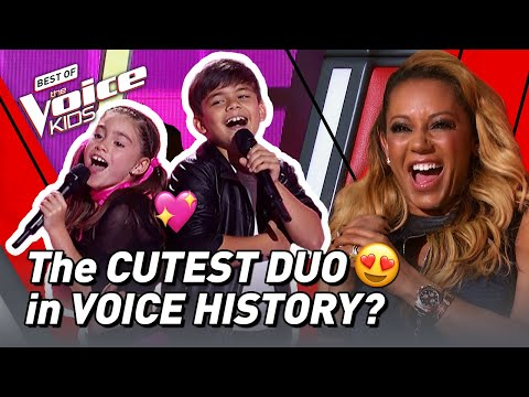 Anthony & Tamara sing 'We Go Together' from Grease   The Voice Stage #43