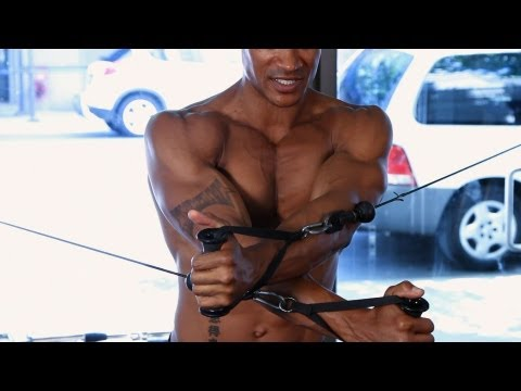 How to Use a Cable Crossover Machine | Gym Workout