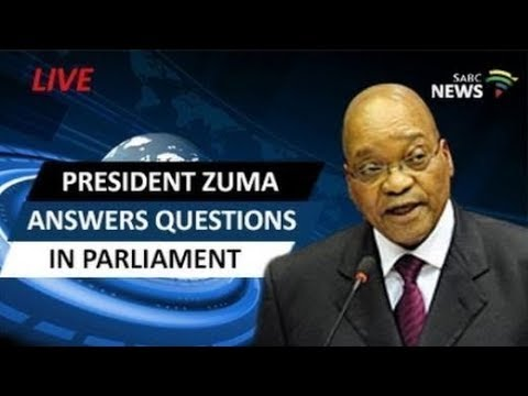 President Zuma answers questions in Parliament: 02 November 2017