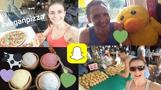 Snapchat Story *WEEKEND* Vlog | Epic food, Anna Saccone, Wedding Anniversary