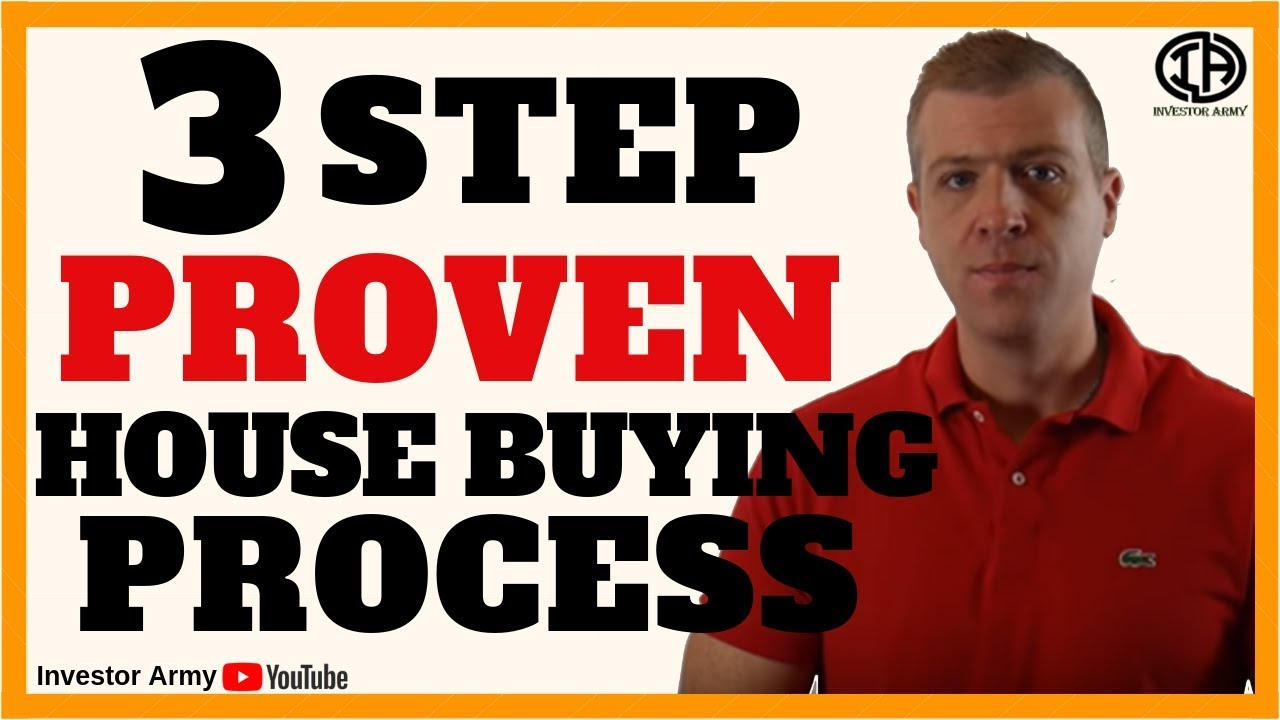 3 Step Proven House Buying Process
