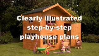 How To Build A Play House | Wooden Play House Plans