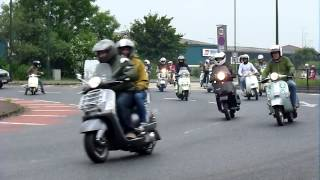 Cleethorpes Scooter Rally Ride In 2015