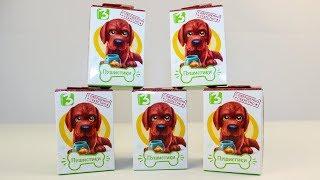 Видео для детей Свит Бокс Пушистики Щенята Сюрпризы Игрушки для детей Sweet Box Surprise toys