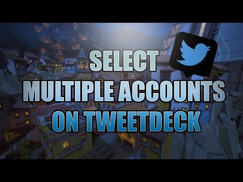 How To Select All Accounts on Tweetdeck to Follow Retweet and Like