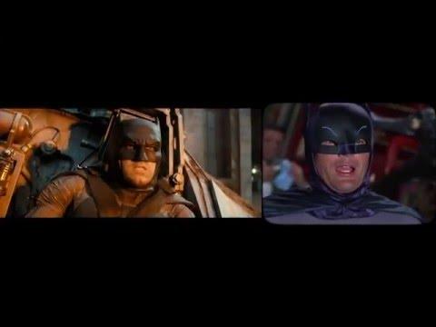 Batman v Superman 1966 side x side remake