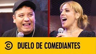 Marcela Lecuona VS Alan Saldaña | Duelo De Comediantes | Comedy Central LA