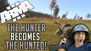 The Hunter becomes the Hunted! - (Arma 3 - Wasteland - Livestream Highlight!)